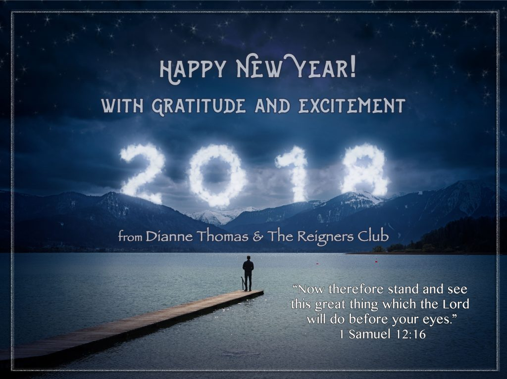 Happy New Year! from Dianne Thomas & The Reigners Club